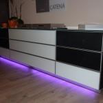 Spectral Catena Audiomöbel mit aktivem Suround-Sound System