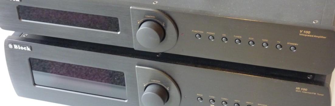 Audioblock HiFi Komponenten